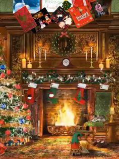 Wishing you a beautiful evening - Geburtstagswünsche - Noel Chrismas Christmas Tree Gif, Winter Christmas Scenes, Merry Christmas Message, Merry Christmas Pictures, Christmas Scenery, Snoopy Christmas, Merry Christmas To All, Christmas Music, Christmas Wishes