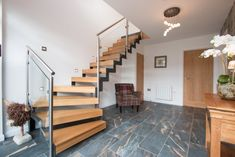 The Old Coastguards luxury self catering cottage in Tobermory Open Bathroom, Self Catering Cottages, Entrance, Old Things, Stairs, Luxury, Bedrooms, Home Decor, Design Ideas
