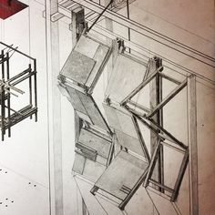 1:20 facade detail for project. Pencil goodness. #architecture #design #pencil #drawing #concept
