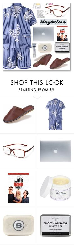 """Newchic Men"" by arohii ❤ liked on Polyvore featuring Incase, Sisley, Profile, men's fashion and menswear"