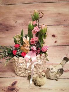 Skupina - Jar a veľkonočné inšpirácie Vence, Bude, Floral Arrangements, Planter Pots, Jar, Home Decor, Decoration Home, Room Decor, Flower Arrangement