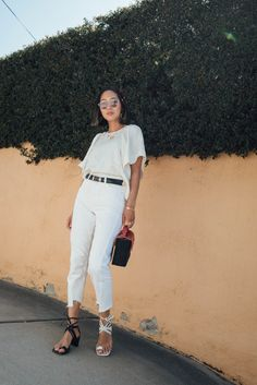White Denim - Summer Styling Tips | Song of Style