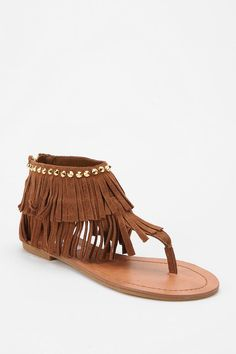 Fringe Sandal.. Bought these in black!!!:):)