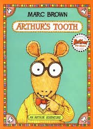 """Arthur's Tooth by Marc Brown - Weekly Reader Children's Book Club Presents - Joy Street Books.""""Finally, Arthur had a loose tooth. Used Books, My Books, Light In August, Kids Book Club, Loose Tooth, Brown Babies, 10 Picture, Classic Books, Childhood Memories"""