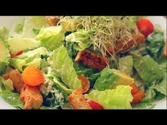 THE BEST VEGAN CAESAR SALAD RECIPE! - YouTube