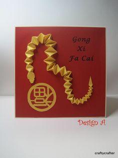 Year of the sheep gung hay fat choy happy new year handmade handmade 3d year of the snake chinese new year card 2013 1000 via m4hsunfo