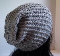 062933bd9f3 Crochet Patterns Unisex Ravelry  Berkley pattern by Kristina Olson slouchy  hat designed for the males in…