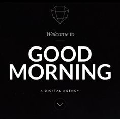 Good Morning #responsivedesign #webdesign #webtrend #websitedesign