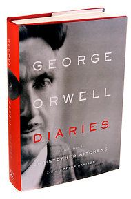 Diaries by George Orwell | Non-Fiction | George Orwell was an inveterate keeper of diaries. Eleven diaries are presented here covering the period 1931-1949 from his early years as a writer up to his last literary notebook. | Find it at PCLS: http://catalog.popelibrary.org/polaris/