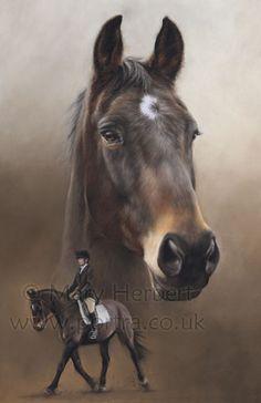 Boo 20x14 by Mary Herbert...amazing artist