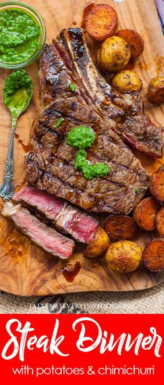 Personalized Graduation Gifts - Ideas To Pick Low Cost Graduation Offers Grilled Ribeye Steak Dinner Video - Tatyanas Everyday Food Steak Dinner Recipes, Best Dinner Recipes, Grilling Recipes, Beef Recipes, Amazing Recipes, Summer Recipes, Mince Recipes, Cooking Ribeye Steak, Beef Steak