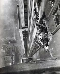 Ernie Sisto - A B-25 bomber crashes into the Empire State Building on the morning of July 28, 1945