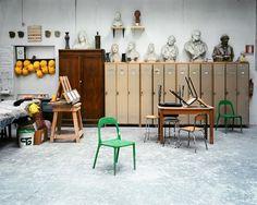 My Own Studio Someday: Visites des écoles d'art du monde entier par la photographe Leonora Hamill | ATELIER RUE VERTE le blog