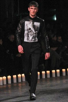 Givenchy Fall 2013 Menswear Collection