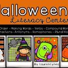 Halloween Literacy Centers by Lauren Lynes | Teachers Pay Teachers