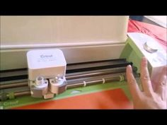 Cricut Explore Step-by-Step Step 1: Linking cartridges and Cutting your first image - YouTube