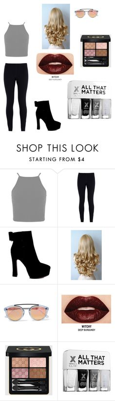 """Loren Beech inspired"" by emmasartorius on Polyvore featuring NIKE, Westward Leaning, Smashbox, Gucci and Formula X"