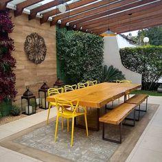 Pergola Ideas For Patio Patio Pergola, Backyard Patio Designs, Backyard Landscaping, Pergola Ideas, Modern Pergola, Outdoor Rooms, Outdoor Living, Outdoor Furniture Sets, Outdoor Decor