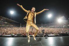 Lorenzo Jovanotti show at the stadium Artemio Franchi in Florence