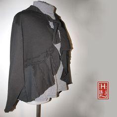 black layered sweater By Secret Lentil  Helen Carter
