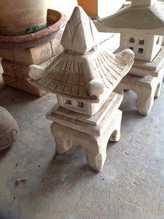 Sandstone pagoda lantern from Chiang Ma, Thailand