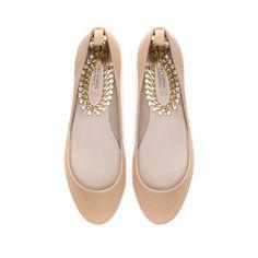 BAILARINA PULSERA - Zapatos - Mujer | ZARA México