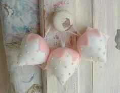SALE Set of 3 Vintage Style Strawberry Sachet by TheShabbyBoutique, $24.99  http://www.etsy.com/treasury/ODYwMjAxMHwyNzA5MDM0NjI2/romantic-spring-cottage-bliss