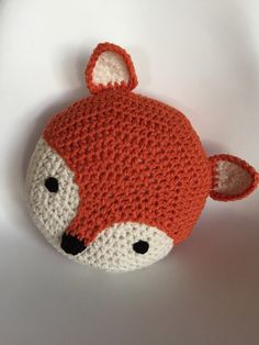 One of our FAVORITE creations is Linus our adorable fox pillow. 14 diameter and comes in a wonderful pumpkin orange and off-white. Makes a great accent to any room! You can order any color or size of your wish as a custom order   Our original design and pattern © Copyright 2011