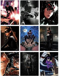 The Dark Knight Trilogy Comic to Film: Catwoman