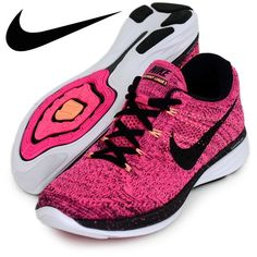 HP Women's Nike Flyknit Lunar3 Pink/Black NEW! Women's Nike Flyknit Lunar3 Pink! Without box! Price is FIRM!! Nike Shoes Athletic Shoes