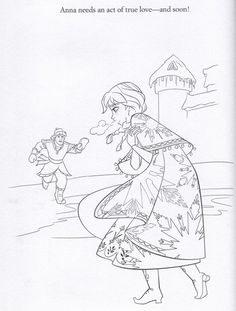 Official Frozen Illustrations (Coloring Pages) - frozen Photo