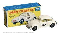 Matchbox Regular Wheels No.15d Volkswagen Beetle 1500 Saloon.