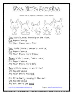Earlier this year, I had seen the rhyme Five Little Cookies and I loved it! It has quite a few different versions, but I liked the simplest ...