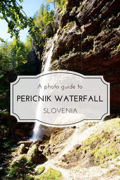 Amazing photos to the amazing Peričnik Waterfall in Triglav National Park in Slovenia.