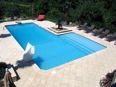Swimming Pool Kits, Swimming Pools Backyard, Swimming Pool Designs, Lap Pools, Indoor Pools, Pool Decks, Cozumel, Nassau, In Ground Pool Kits