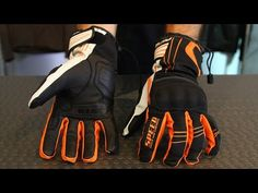 ▶ Speed and Strength Chain Reaction Gloves from Motorcycle-Superstore.com - YouTube