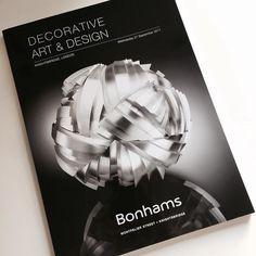 Bonhams Decorative Art and Design Sale Starts Tomorrow!  Stunning and pioneering works in silver specially commissioned for the recent Victoria and Albert Museum exhibition Silver Speaks: From Idea to Object are under offer during Bonhams Decorative Art and Design Sale in London from 1pm 27 September. The exhibition curated by design critic Corinne Julius was organised by Contemporary British Silversmiths to mark its 20th anniversary and showcased the very best of British silver design and…