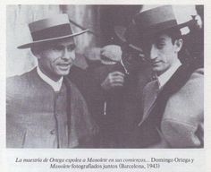 Domingo Ortega y Manolete