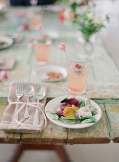 color palette & table setting