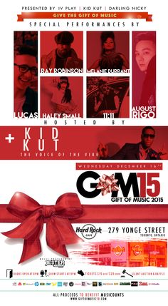 The 2015 Gift of Music in Toronto