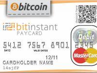 Bitcoin BitInstant debit card