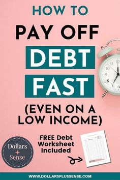 I will show you how to pay debt faster even if you're living paycheck to paycheck and have no money. The first and most important step is... Debt Repayment, Debt Payoff, Debt Consolidation, Dave Ramsey, Money Tips, Money Saving Tips, Money Hacks, Money Savers, Vida Frugal