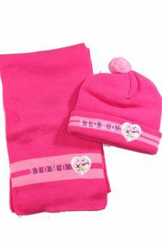 Vintage Sailor Moon Girls Pink Knit Scarf Hat Beanie 90s Adult Child Anime NEW #Sailormoon #Sailormoon