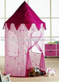 Castle tent for kids wall