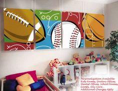 for a boys room, so cute