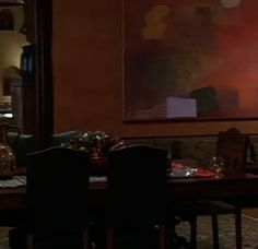 Movie Set: A Perfect Murder A Perfect Murder, Dial M For Murder, Dining, Living Area, Movies, Decorating Ideas, Spaces, Projects, Art