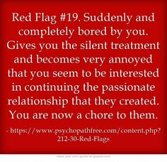 Sounds like the end of my marriage.  Narcissistic abuse recovery.