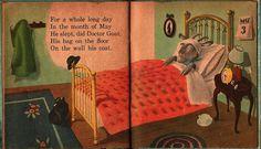 VINTAGE KIDS BOOK Dr. Goat a Whitman Book