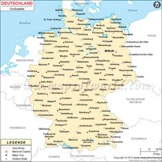 Deutschland Städte Karte Free Genealogy Sites, Genealogy Forms, Genealogy Research, Free Newspaper Archives, Find Your Ancestors, Marriage Records, Old Family Photos, Learn German, German Language