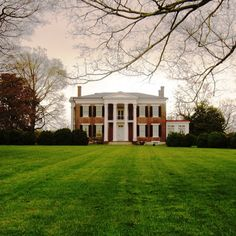 Rippavilla Plantation in Spring Hill, TN.  Read the compelling story of this beautiful home at http://www.rippavilla.org/